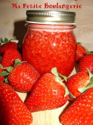Mermelada de fresa con pectina