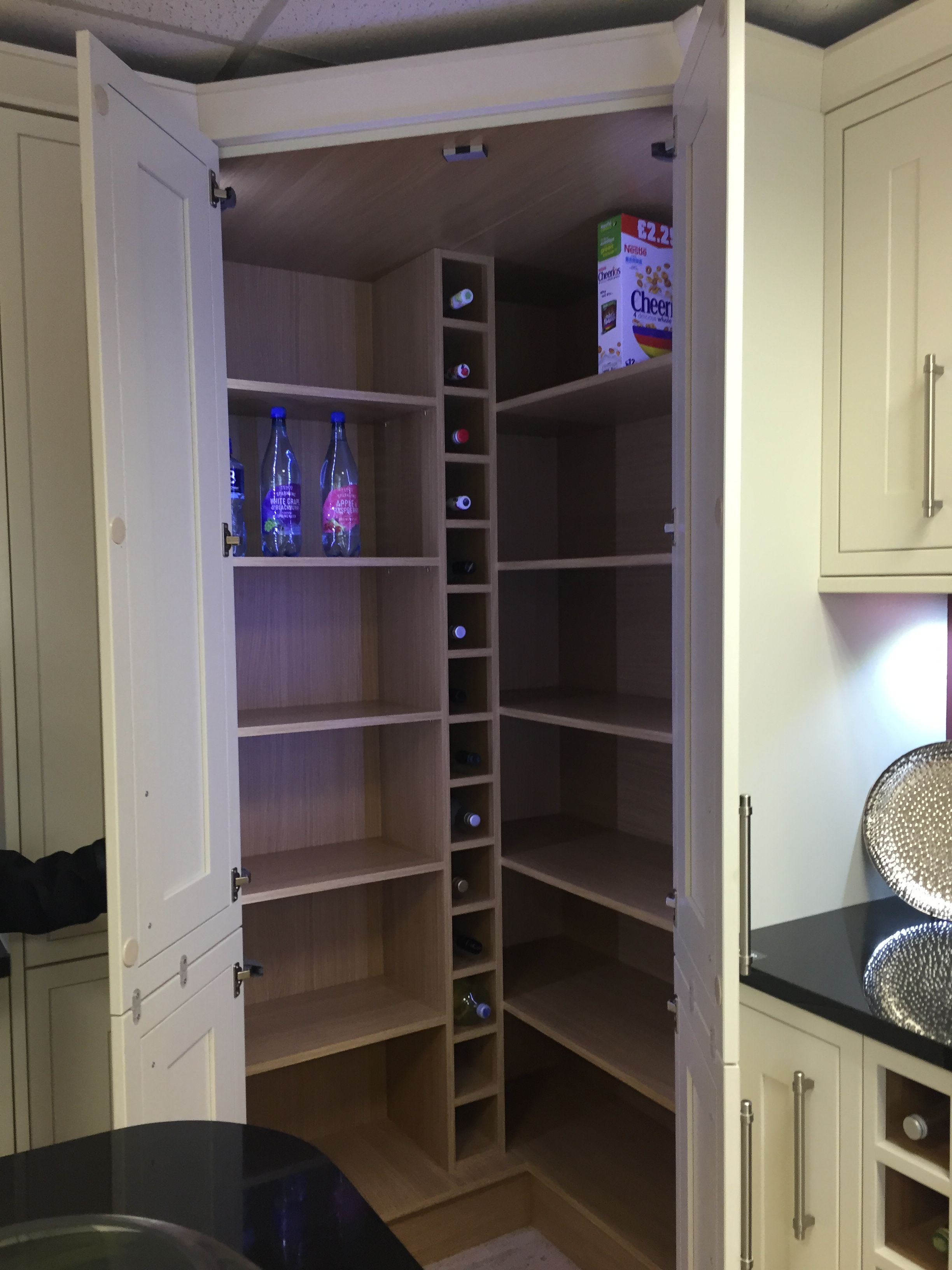Larder shaker bone wickes home sweet home pinterest for Wickes kitchen cupboards
