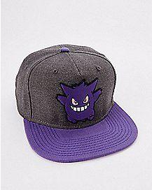 700219769da 3D Gengar Pokemon Snapback Hat