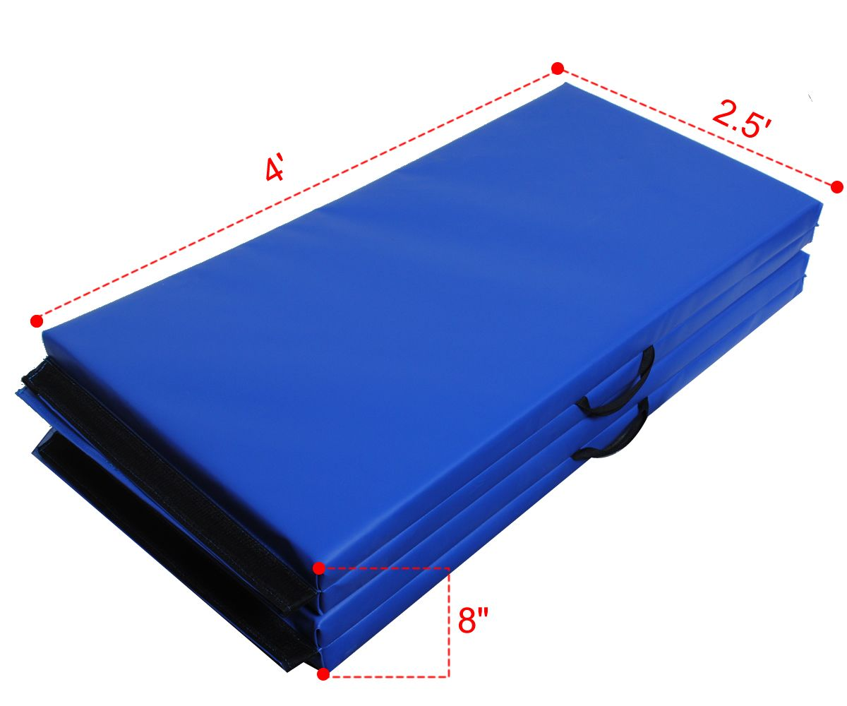 1pc New 4 X10 X2 Folding Panel Gymnastic Mat Gym Exercise