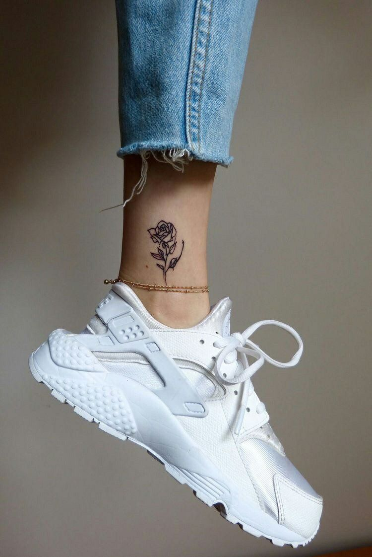 Good ankle tattoo ideas pin by julio netto on flowers  pinterest  tattoos tattoo designs