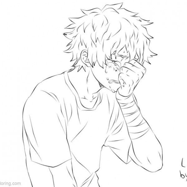 Boku No Hero Academia Coloring Pages Todoroki Lineart By Justaweirdgirl Free Printable Coloring Pages In 2020 Anime Lineart Sketches Drawing Sketches