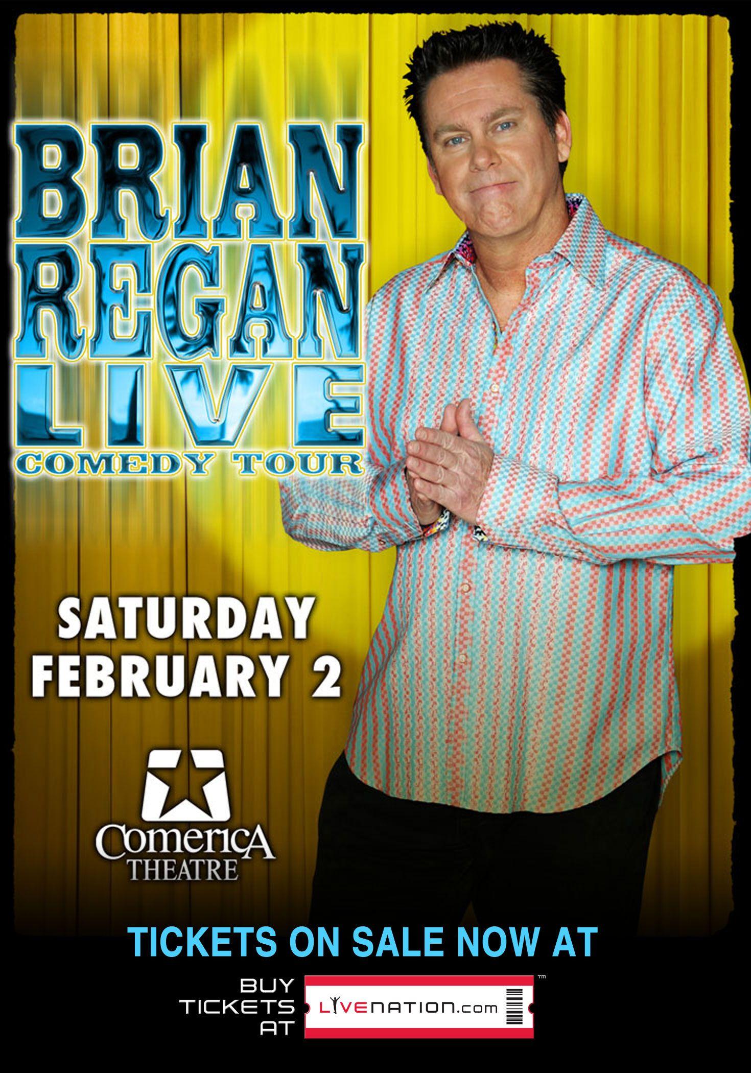 Brian Regan - Saturday, February 2nd at Comerica Theatre - Phoenix, AZ