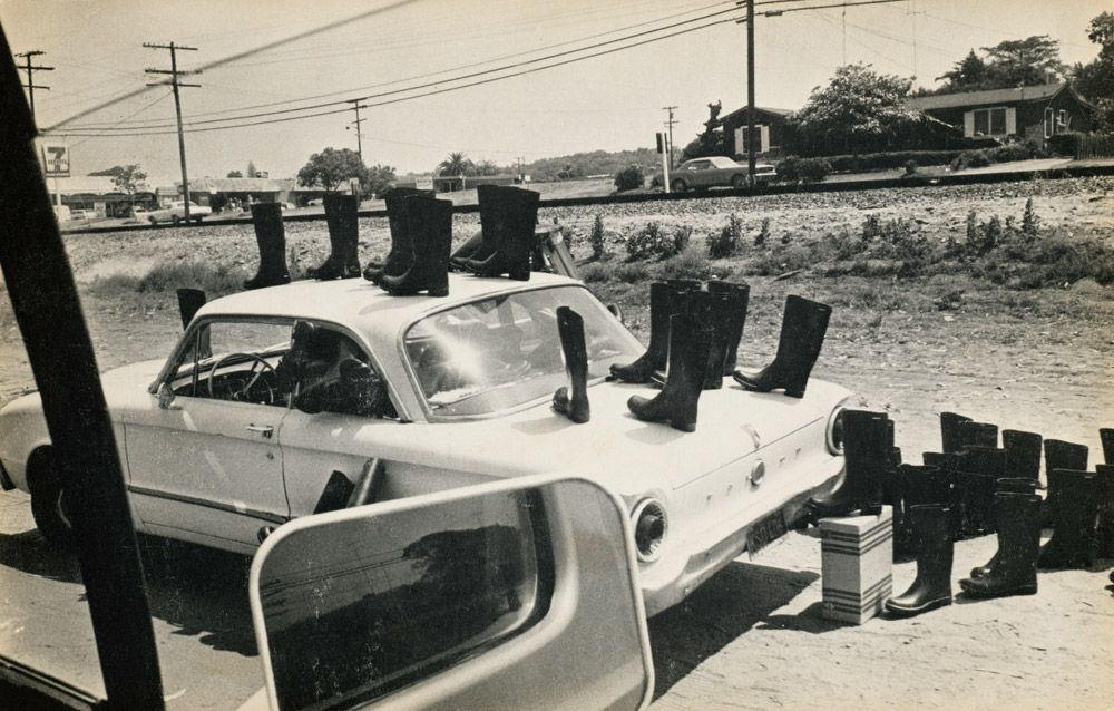 100 Boots Eleanor Antin 1971 73 Conceptual Art Art Institute Of Chicago Museum Of Modern Art