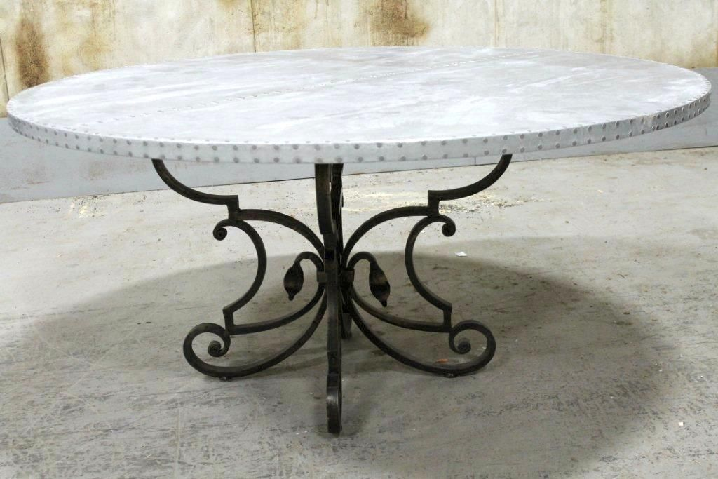 Love This Zinc Table From Ecustomfinishes