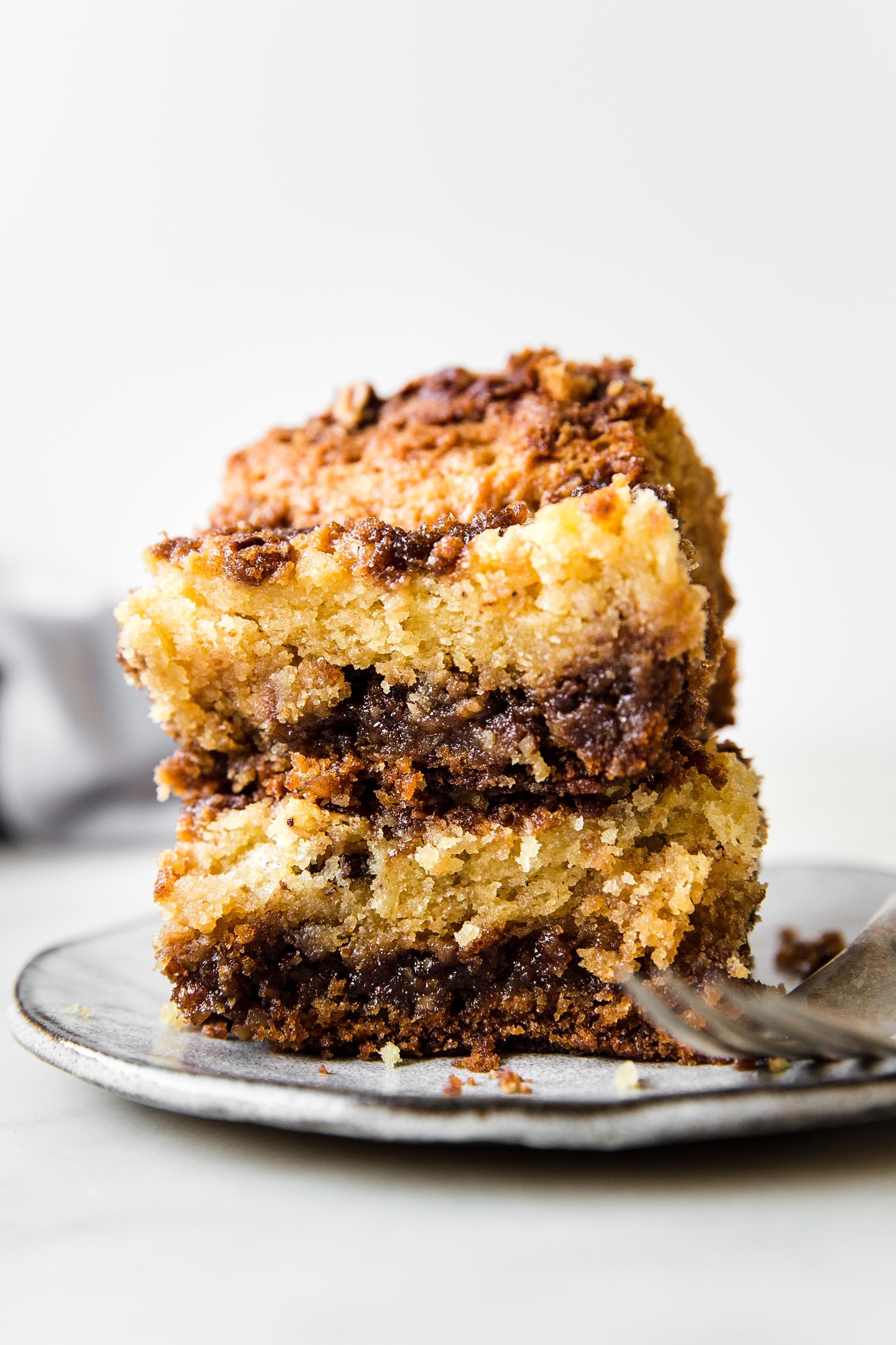 Sour Cream Coffee Cake The Modern Proper Recipe In 2020 Sour Cream Coffee Cake Coffee Cake Coffee Cake Recipes Easy