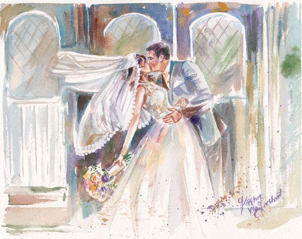 Wedding Gift Paintings: Creative Wedding Gifts