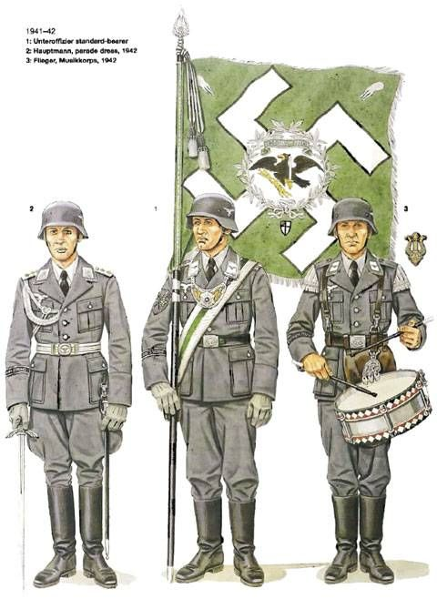 German WW2 Military Poster Division Hermann Goring