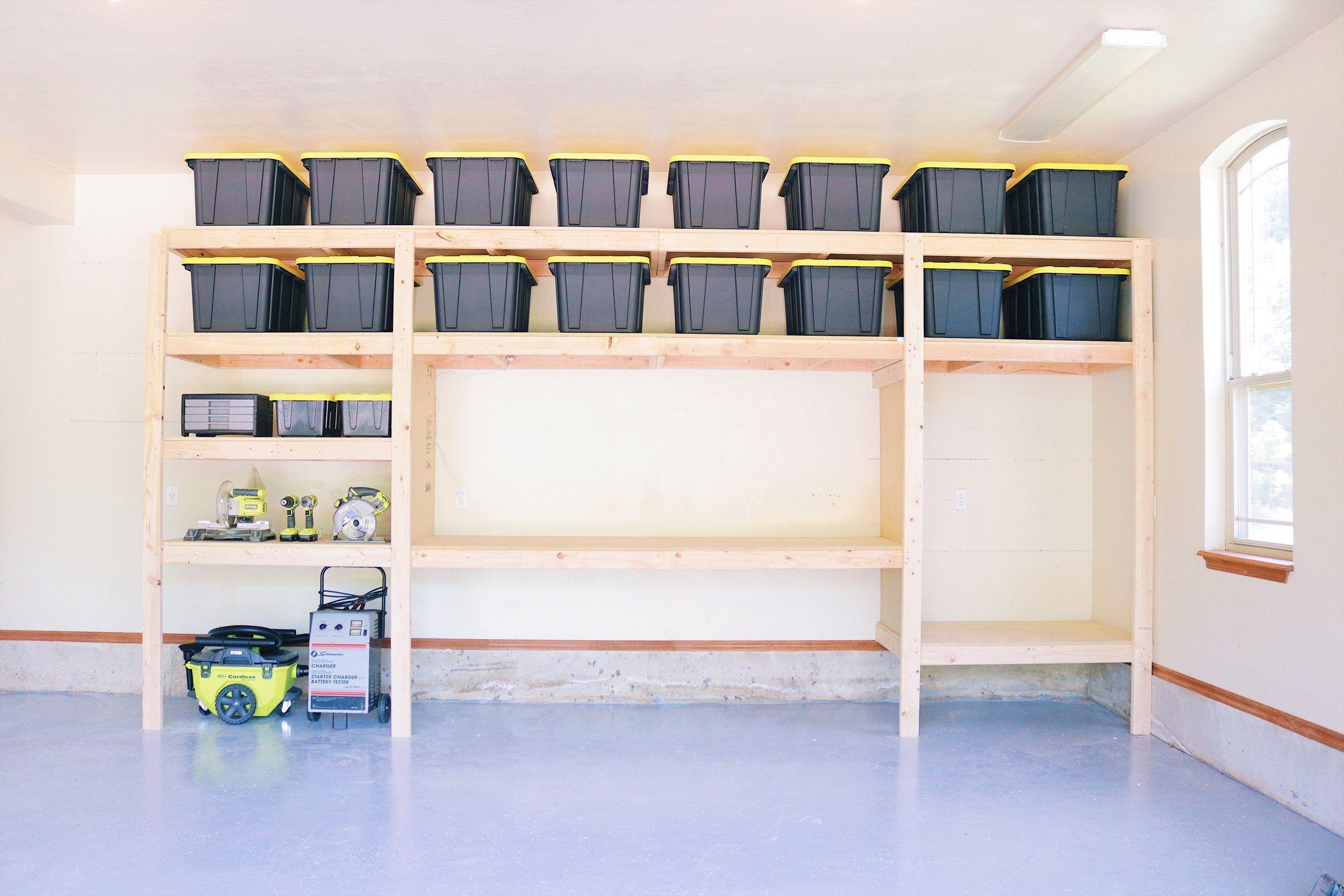 DIY Garage Shelves — Modern Builds The Ultimate Garage