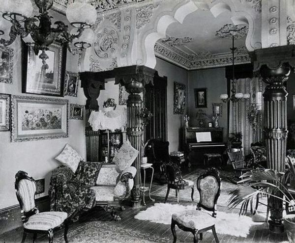 Pin On Victorian Interiors Décor