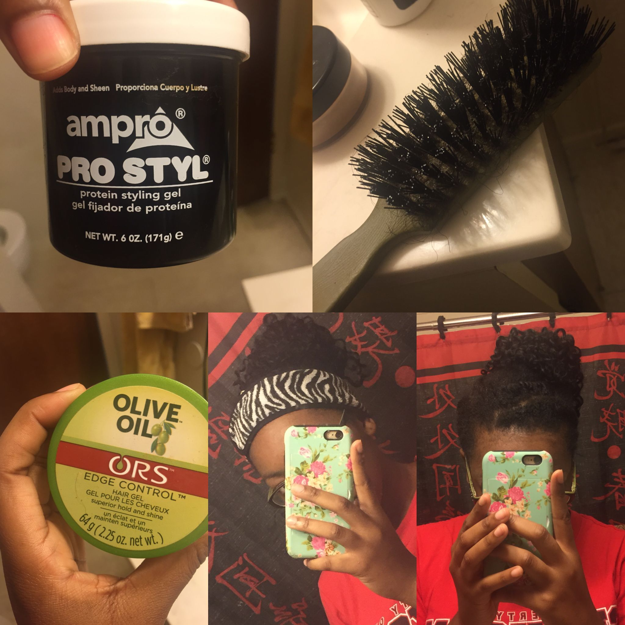 How To Tame Your Unmanageable Edges 1 Gel Them 2 Brush Brush 3 Use Edge Control 4 Brush Brush 5 W Edge Control Protein Styling Gel Transitioning Hairstyles