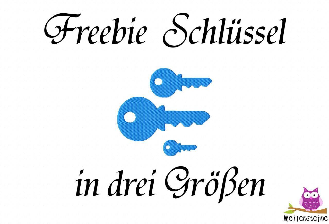 Schlüssel FREEBIE   Stickdateien   Pinterest   Schlüssel ...