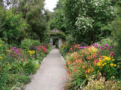 The Walled Garden, Garnish Island, West Cork | Irish ...