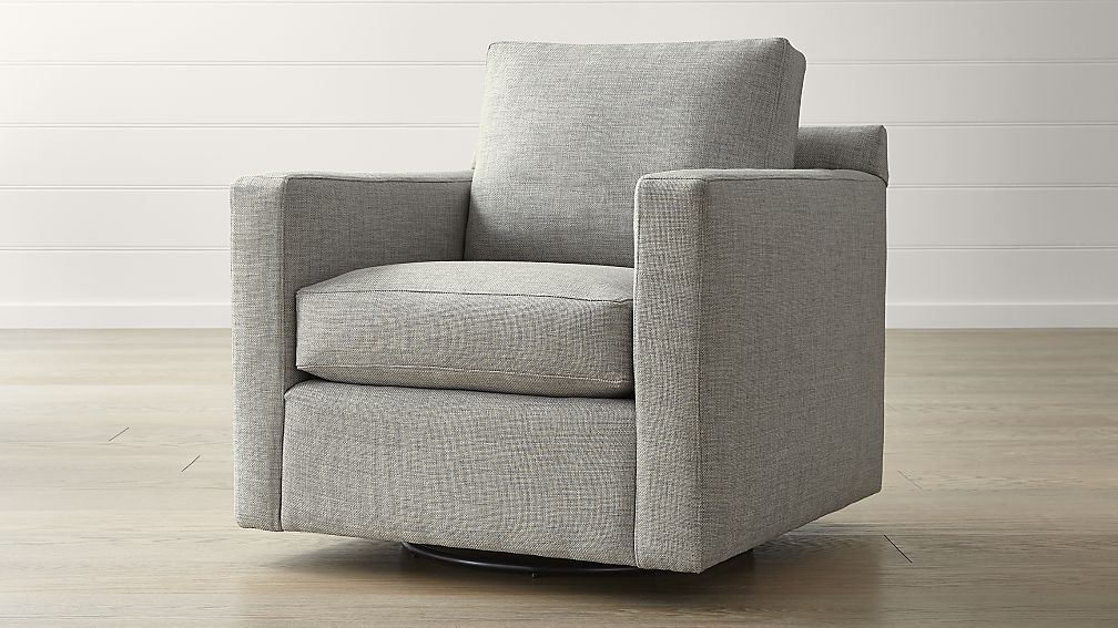 Barrett Track Arm Swivel Chair Reviews Crate And Barrel Swivel Chair Arm Chairs Living Room Blue Chairs Living Room #swivel #upholstered #chairs #living #room