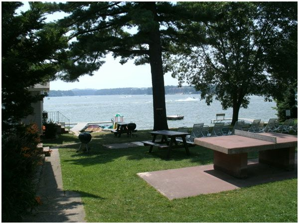 Outlook Over Lake Delton From Sandy Beach Resort Wisconsin