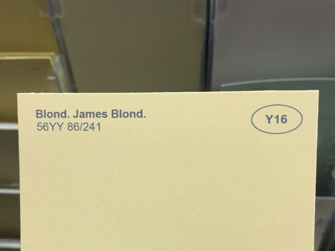 Prankster Renames Paint Colors at the Local Hardware Store