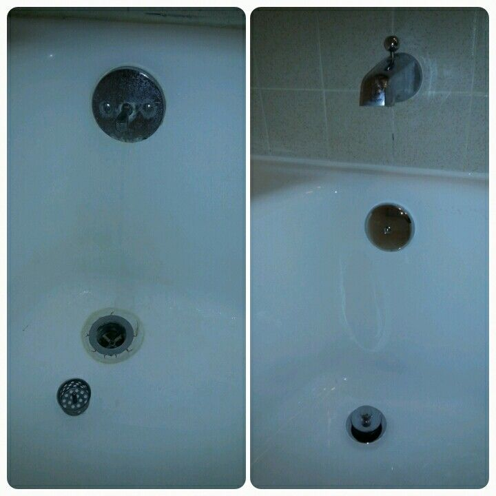 Adding new trim plumbing hardware to your reglazed bathtub is a ...