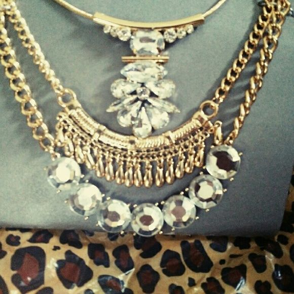 New Make A Statement Gold Statement Necklace Jewelry Necklaces