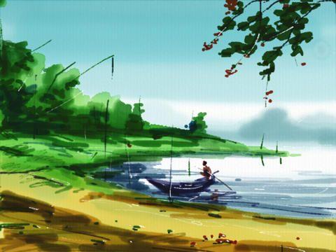 Auryn Ink Watercolour Painting App Paint App Best Ipad Ipad