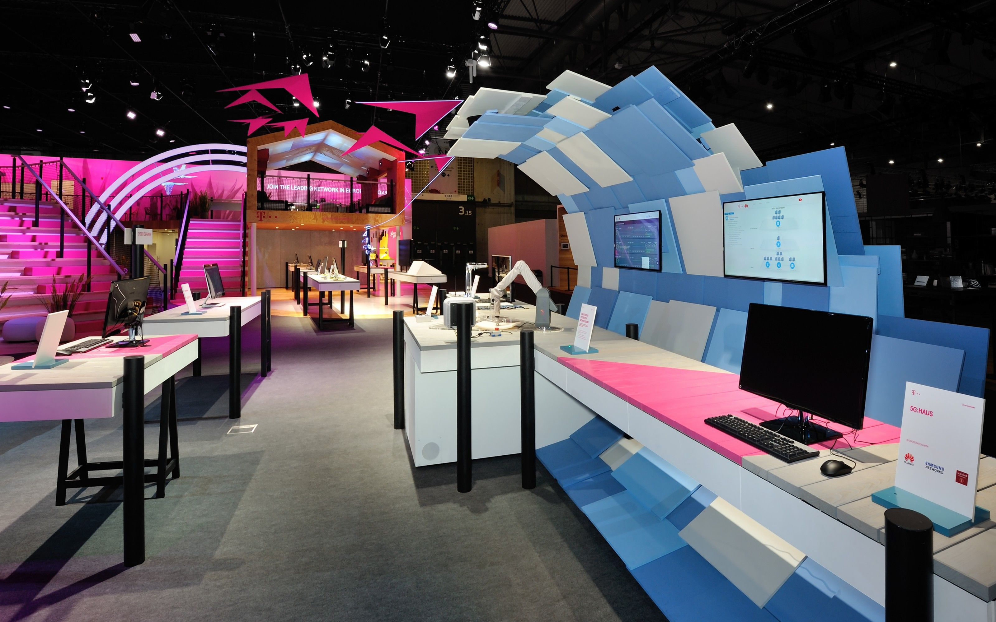 Deutsche Telekom at MWC 2016.Project as Senior Designer