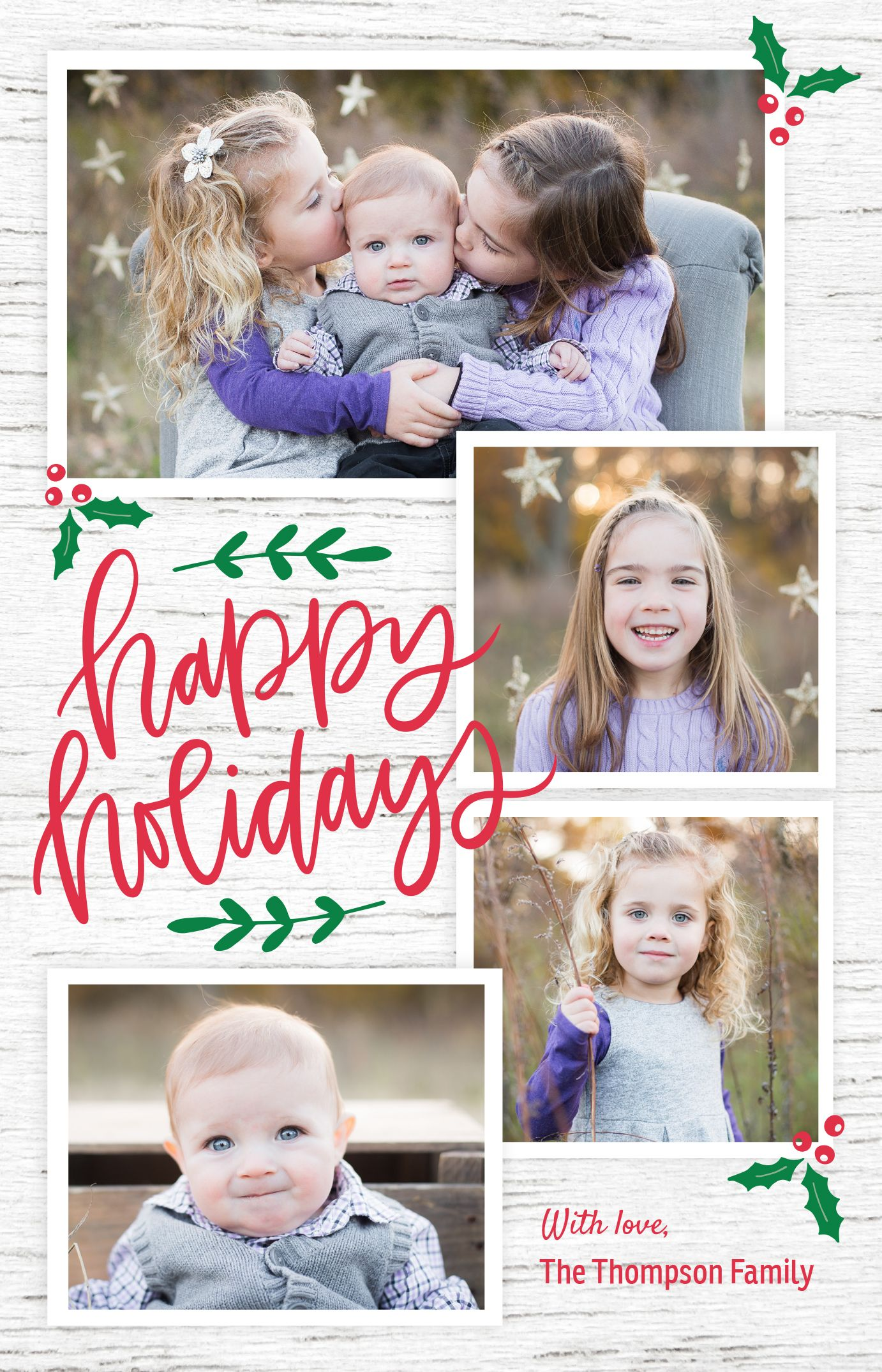 Pin By Vistaprint On Rustic Christmas Card Ideas With Images
