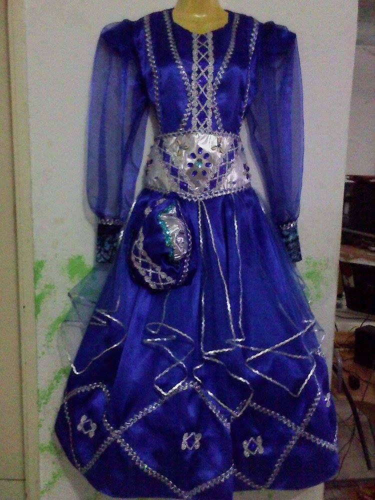 traje para Yemaya de Dama | trajes de santo y mas | Pinterest ...