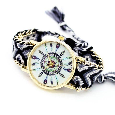 Dreamcatcher bracelet watch (2 colors) – Imsmistyle.