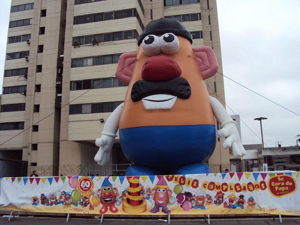 Mr Potato Head Celebrates A Birthday In Lima Peru Mr Potato Head Wikipedia Potato Heads Mr Gender Neutral