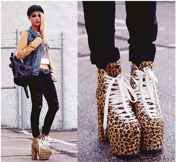 Fashion Beauty Inc: Fashion & Beauty Inc: 3 Ultra Edgy Street Style Bloggers