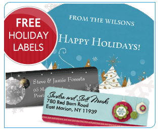 Free Address Labels Samples Free Holiday Labels And Address Labels  Closet Of Free Samples .