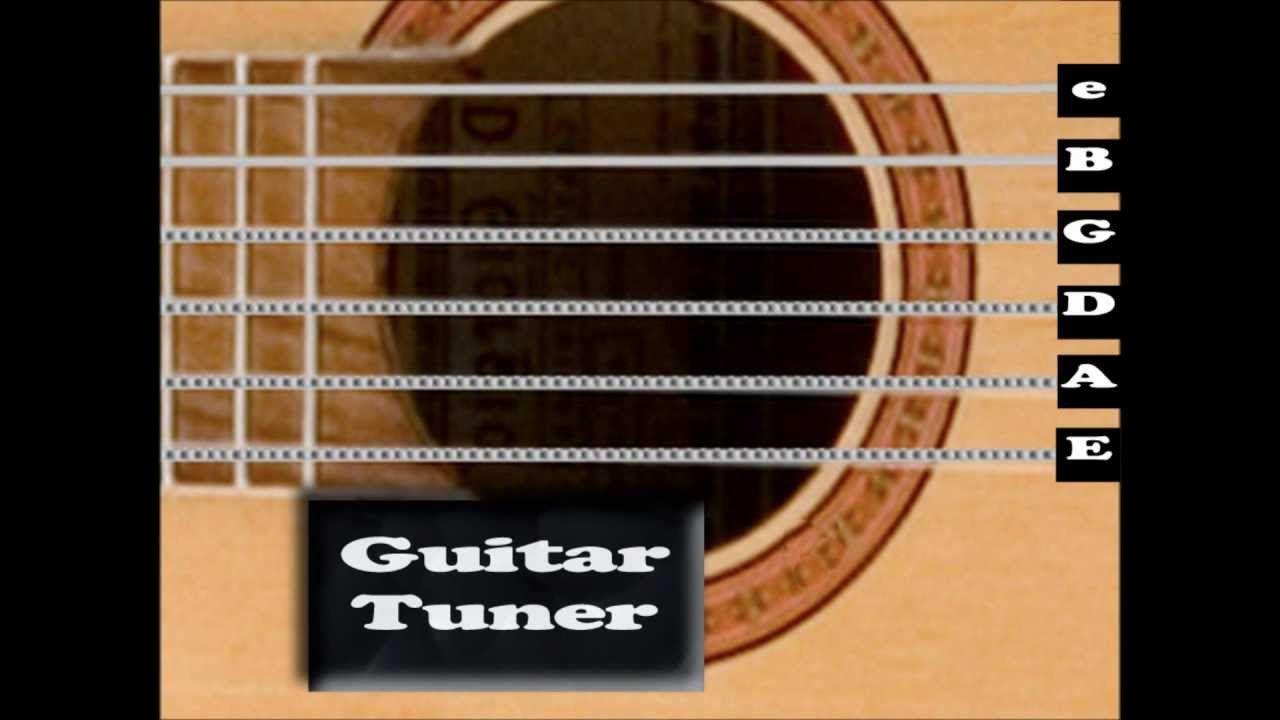 Standard Acoustic Guitar Tuner Interactive Guitar Tuners Acoustic Guitar Tuner Acoustic Guitar