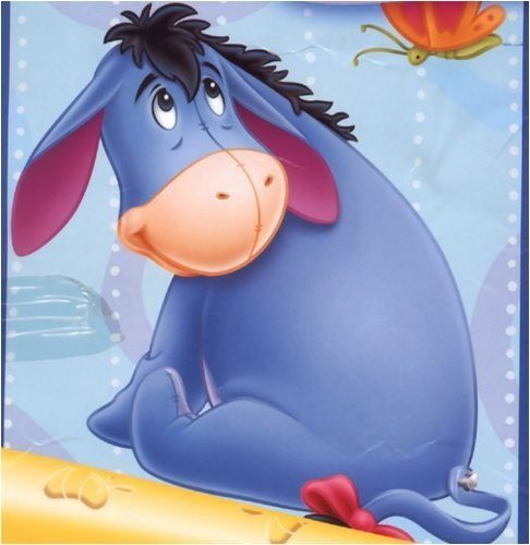 Eeyore on the floor