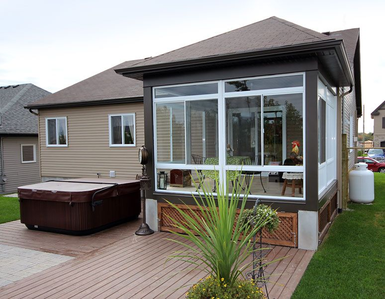 Inspirational Sunroom for Mobile Home