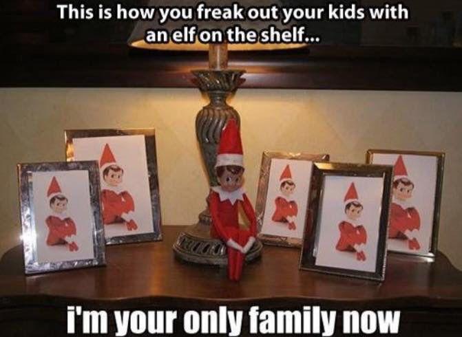 Scary elf