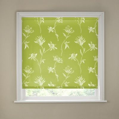 The decorative Nadia Roller Blind patterned with delicate brush