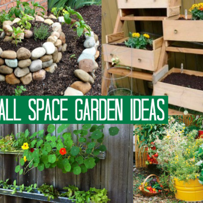 1o Small Space Garden Ideas is part of Small garden Kids - 1o Small Space Garden Ideas  10 beautiful and unique ways to grow a garden in a small space at home! A small space garden is a great kids summer project!