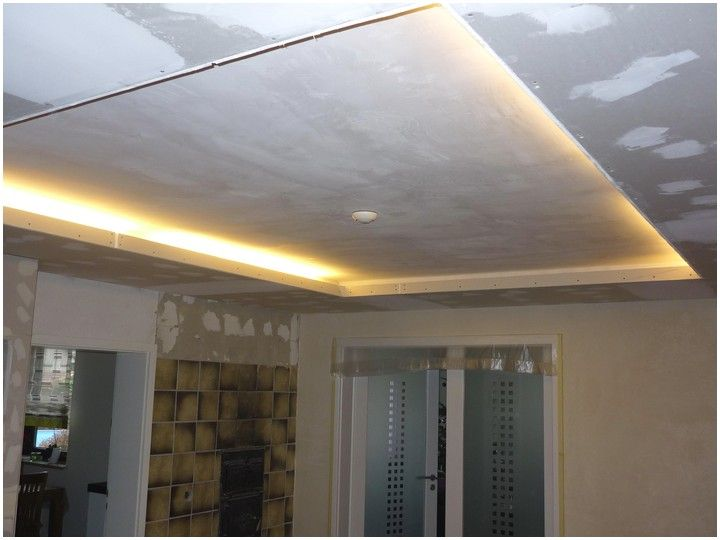 Trockenbau Decke Abhängen Indirekte Beleuchtung