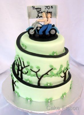 motorcycle cake - google search   let's have a party   pinterest