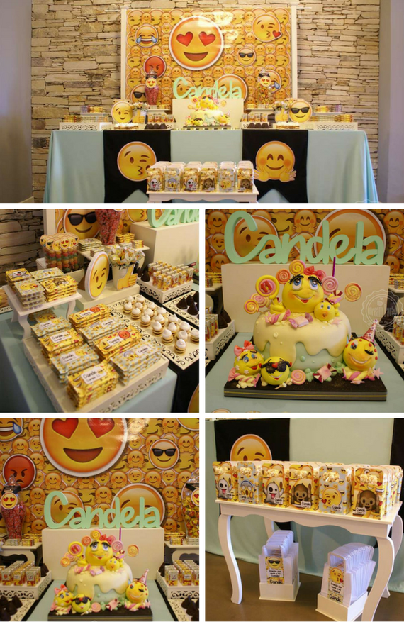 Emoji Birthday Party Theme Themes 10th Parties 5th