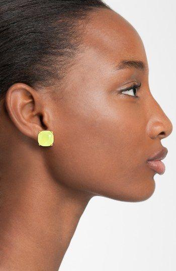 Kate Spade New York Mini Small Square Semiprecious Stone Stud Earrings Nordstrom