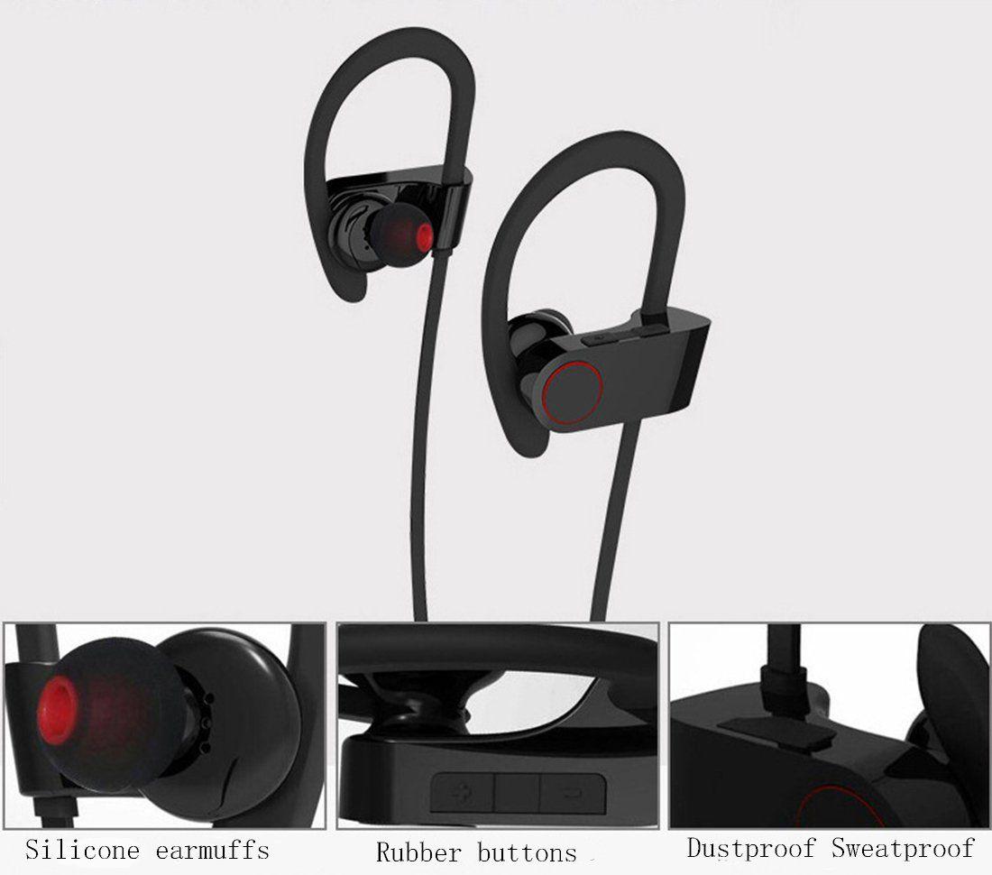 Bluetooth U8 4.1 Wireless Headphones Sweatproof Sport