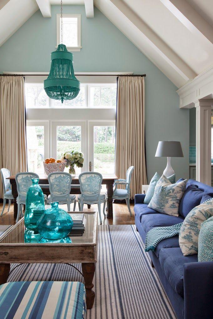 Tobi Fairley Interior Design Interiors, House and Living rooms