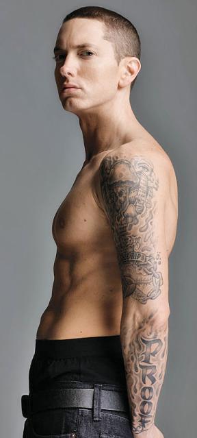 eminem Marshall Mathers Pinterest Ideas de tatuajes Tatuajes