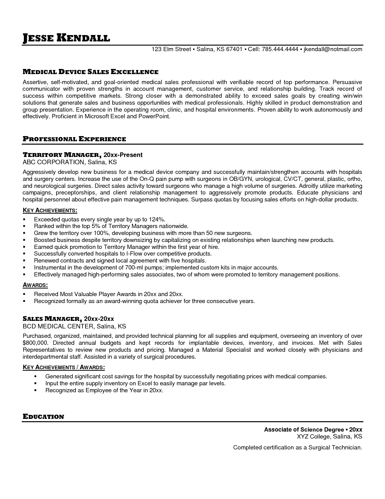 medical sales resume sample free resumes tips skills pertaining entry level  assistant samples