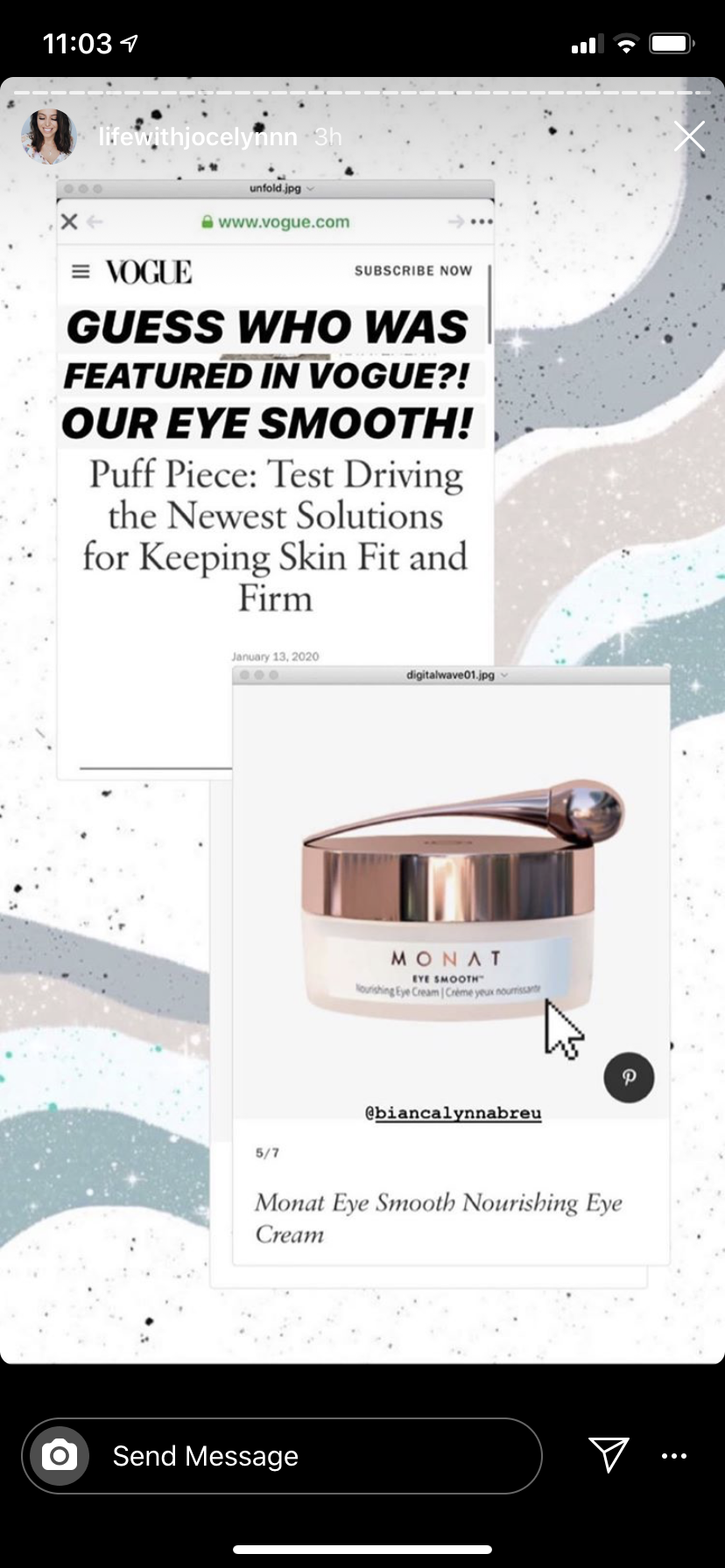 Eye Smooth In 2020 Monat Anti Aging Skin Products Aging Hair Care