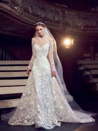 See Elie Saab Wedding Dresses From Bridal Fashion Week Wedding Dress Long Sleeve Elie Saab Bridal Wedding Dresses Vintage