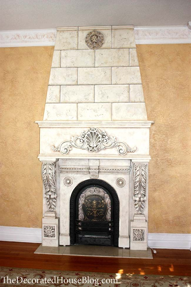 building a faux fireplace revisting diy faux. Black Bedroom Furniture Sets. Home Design Ideas