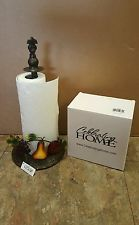Paper Towel Holder Celebrity Houses Dishes Villa Fruit Mosaics Ping