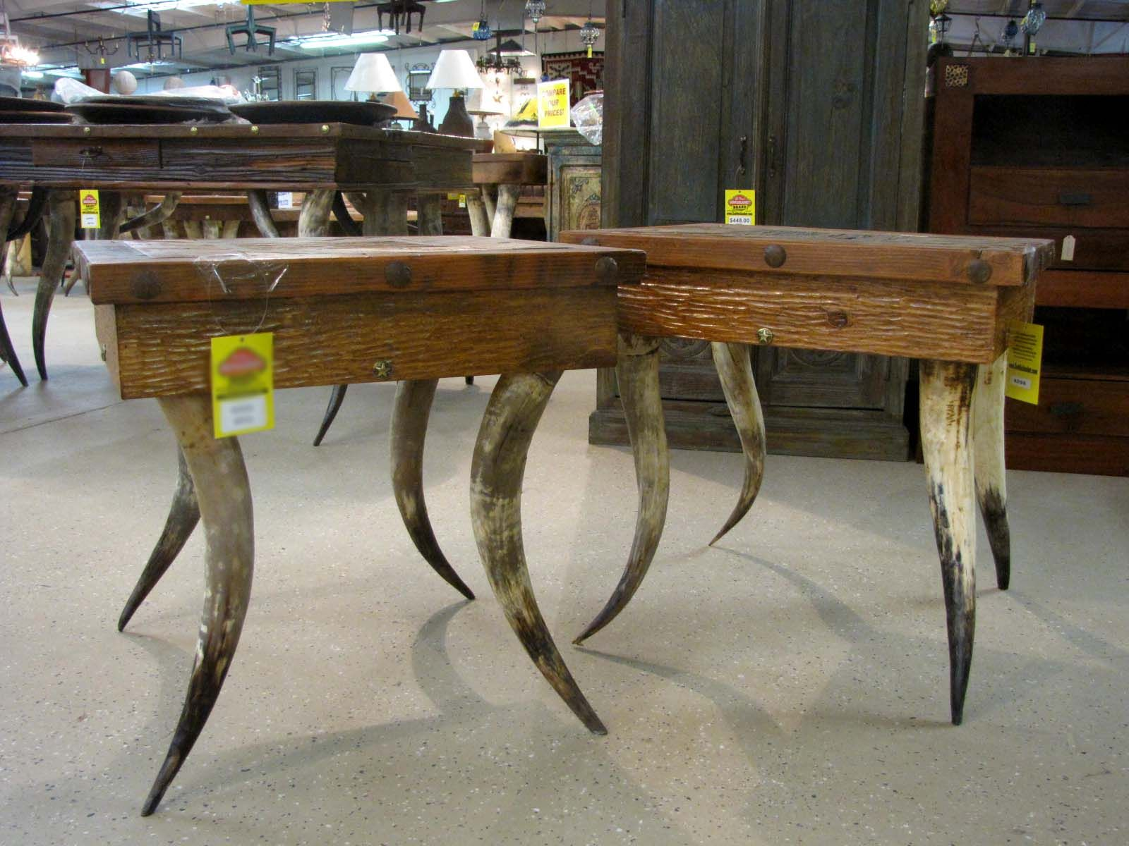 With Authentic Cow Horn Legs, The Horn Leg Coffee Table