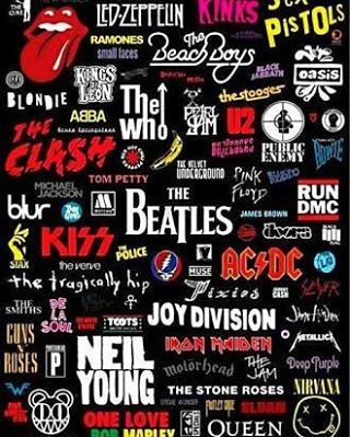 Bandas D Rock Rock Rocknroll Atitude Instagood Kiss Acdc